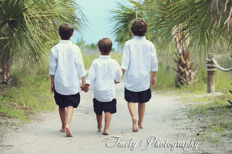 Siesta Key Beach Family Portrait Photography